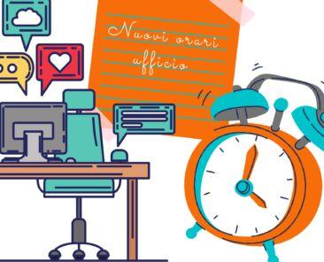 nuovi orari ufficio